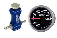 Controlador de refuerzo de manual Turbosmart azul y Boost Gauge Kit Psi Turbosmart 52mm