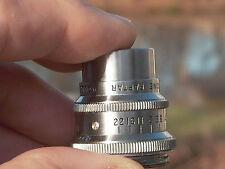 "Revere 16 w/ Wollensak 1"" 25mmF:2.5  Cmt. Sony APS-C m4/3 rds NIKON Canon Bolex"
