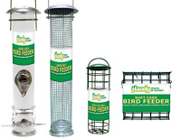 LARGE Deluxe Wild Bird SEED, NUT, FAT BALL and SUET CAKE Feeder BUNDLE