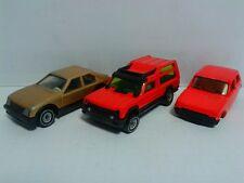 3 x SIKU EU CARS: 1340 Matra Simca Rancho 1038 Renault 5 1047 OPEL Kadett SR