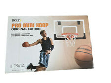 Sklz Pro Mini Hoop Original Edition Basketball With Ball 18 X 12� Shatterproof