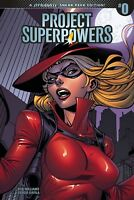 Project Superpowers #0 Royale Sneak Peek 1:10 Variant Cover (Dynamite 2018) NEW