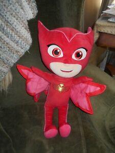 "PJ Masks Owlette 22"" Plush Toy Stuffed Disney Jr. Character Superhero Girl Red"