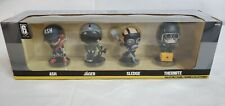 Ubisoft Rainbow Six Seige Chibi Collectible Vinyl Figure 6 Series 1 4 Pack Jager