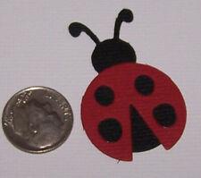 8 Lady Bugs PAPER Die Cuts / Scrapbook & Card Making
