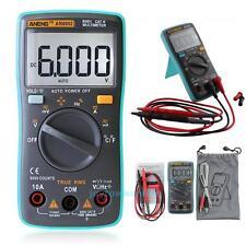 Digital Auto-range TRMS Multimeter Backlight AC/DC Voltage Temperature Ammeter
