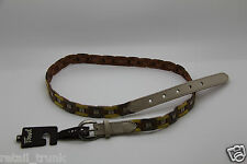 Fossil Woven Neutral Multi Belt Leather M