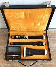 Vintage German two keyed Baroque Oboe Gunter Korber after August Grenser 430Hz.