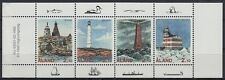 Aland 1992 ** Mi.57/60 Leuchttürme lighthouses Rannö Sälskär Märket [st2222]