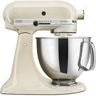 KitchenAid Artisan Series 5-Quart Tilt-Head Stand Mixer in Almond Cream