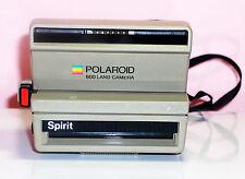 Vintage Spirit Polaroid  600 Land Camera black neck strap, box