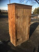 Primitive Farm House Wood Jelly Cupboard Pantry Kitchen  Cabinet  Farm Fresh