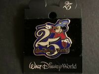 WDW - 25th Anniversary Sorcerer Mickey Retired Disney Pin 64