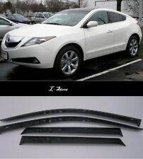 For Acura ZDX 2009-2013 Side Window Visors Sun Guard Vent Deflectors