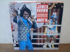 "LP 12"" MAXI - JAMES BROWN - Living in America - Rocky IV - VG+/VG+"