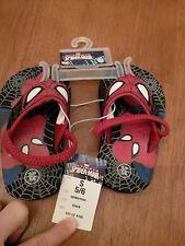 NWT- SPIDERMAN - Boy's Flip Flops - Size S 5/6
