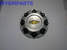 "SILVERADO 2500HD 3500 8 LUG HUB CAP 17"" WHEEL 5 SPOKE 2007-2019 NEW OEM 9595478"