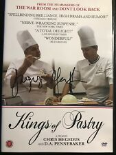 Kings of Pastry - First Run DVD-Autographed by Jacquy Pfeiffer-Mint-Rare