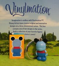 "DISNEY Vinylmation 1.5"" Park Set 2 Junior Jr Color Block Keychain Genie Sticker"