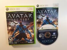 James Cameron's Avatar The Game Xbox 360 COMPLETE - CANADA FAST FREE SHIPPING