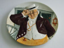 Mr. Pickwick Plate by Douglas Tootle - Davenport Pottery Co. - England