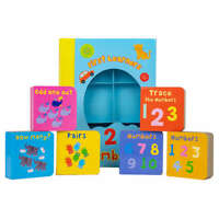 Board Book First Learners 123 Numbers - Boardbook set for early learning