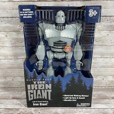"Goldlok The Iron Giant 14"" Motorized Walking Iron Giant - Walmart Exclusive"