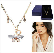 NWT Swarovski Magnetic Crystal Butterfly Gold Tone Necklace 5416786