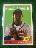 RONALD ACUNA JR. BRAVES 2019 TOPPS ARCHIVES #100