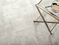 Sample M2 VAT Concrete Grey Matt Double Glazed Wall Floor Tiles 60x60