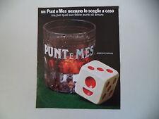 advertising Pubblicità 1975 CARPANO PUNT E MES