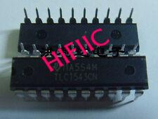 1PCS TLC1543CN 10-Bit, 38 kSPS ADC Serial Out, On-Chip System Clock