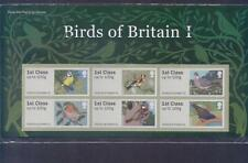 GB 2010 POST AND GO BIRDS OF BRITAIN (1) STAMP SET MINT