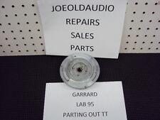 Garrard Lab 95 Inner Gear Metal Platter.  Parting Out LAB 95 Turntable.