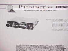 1973 1974 MERCURY CAPRI AMC GREMLIN HORNET DODGE AM-FM-MPLX RADIO SERVICE MANUAL