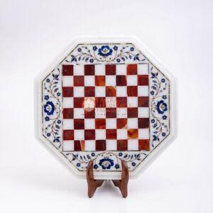Handgefertigt Marmor Schach Set Innen Erwachsene Schach Spiel Brett Dekor Spiel