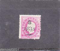 PORTUGUESE INDIA D. LUIS I  I 3 r. s/ 1T (1902)  MH