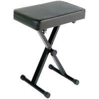 Yamaha Portable Adjustable Padded Keyboard X-Style Bench