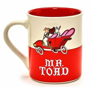 Disney Store Mr Toad Mug, The Adventures of Ichabod and Mr. Toad /NEW BOXED/