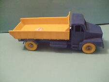 Dump TRUCK hard PLASTIC by H.P PLASTIC TOY made in Denmark