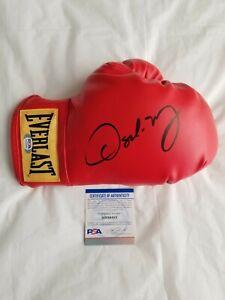 Oscar De La Hoya Signed Everlast Boxing Glove w/ PSA COA Autographed Mexico