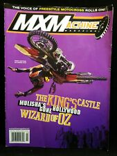 MX Machine Motocross Motorcycle Dirt Bike Magazine March 2003 Kenny Bartram