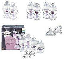 Tommee Tippee Advanced Comfort Vented Anti colic 150ml/260ml Bottles And Teats