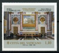 Vatican City 2019 MNH Lateran Treaty Pacts 1v S/A Set Architecture Art Stamps