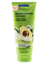 Freeman Facial Avocado & Oatmeal Clay Mask Deep Cleans & Purifies Pores 175ml