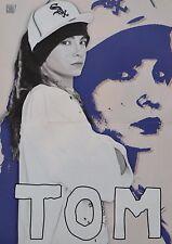 TOM KAULITZ - A3 Poster (ca. 42 x 28 cm) - Tokio Hotel Clippings Sammlung NEU