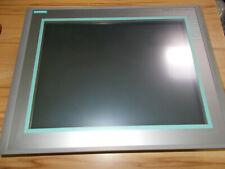 "Siemens Simatic S7 MP377 15"" Touch Panel 6AV6644-0AB01-2AX0 6AV6 644-0AB01-2AX0"
