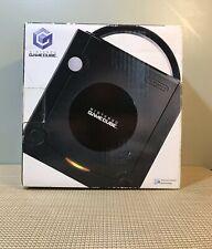 Nintendo Gamecube Jet Black Console System BOX ONLY - DOL S M009 Bundle-BOX ONLY