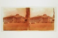 Paris La Bourse France Plate Glass Stereo