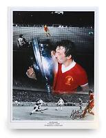 Alan Kennedy Signed 16x12 Photo Liverpool Legend Autograph Memorabilia + COA